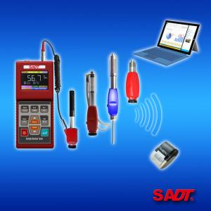 China SADT HARTIP3210 Digital Portable Hardness Tester with Probe E  Analogy and  Wireless  RF Probe ± 2HL Accuracy supplier