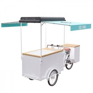 China Commercial Ice Cream Pedal Scooter , Ice Cream Trike With Long Service Life on sale