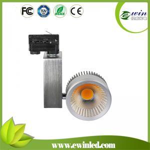 China 2015 Unique design high lumen 3500-3800lm EMC, LVD CE ROHS ERP led 30w COB track lighting on sale