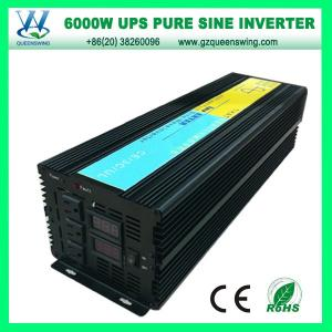 China UPS 6000W DC AC Power Inverter with CE/RoHS Approved (QW-P6000UPS) on sale