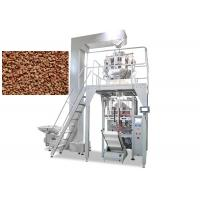 Multi Functions Pet Food Packaging Machine , Snack Weighing Packaging Machine