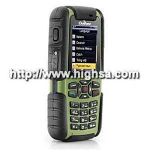 China Commando Pro - A81 Waterproof Quadband Cell Phone (Compass Flashlight Weather Forecast Walk Talkie) on sale