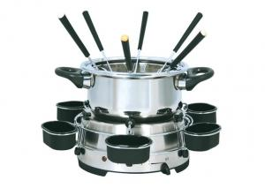 China Stainless steel Home fondue pot Electric Multi Cooker XJ-9K109 on sale