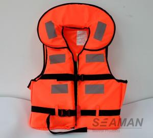 China New Working Life Vest Marine Life Jacket Foam Personal Floating Vest on sale