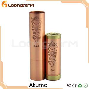 China Mechanical Mod Copper Akuma Vaporizer for Ecig on sale