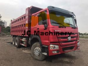 China HOWO Used 10 Wheel Dump Trucks For Sale 375hp Power on sale