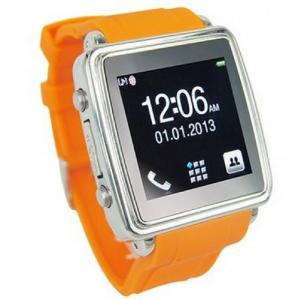 China MQ588 Watch Mobile Phone,Wrist Mobile Phone,Watch Phone 1.54 inch TFT touch screen Bluetoo on sale