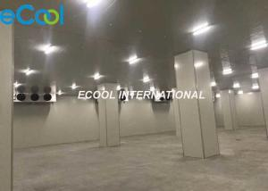 China Electriccal Control Frozen Food Storage Warehouses For Logistics And Transfer Center on sale