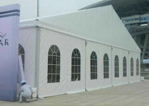 China Environmentally 20m Outdoor Event Tent Fabric Structure For Exhibition on sale