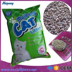 China meipeng 5L 10L bentonite cat litter clumping best clean on sale