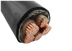 China copper cable 3 core PVC Insulated Power Cable according to IEC60502-1 on sale