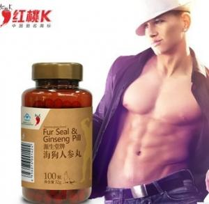 China Fur seal oil ginseng pills men sexual energy on sale
