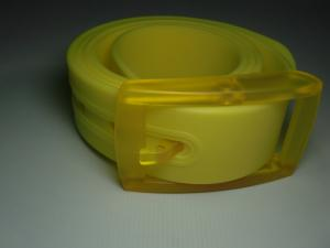China colorful silicone belt/sports silicone belt/silicone rubber belt on sale