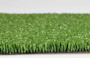 China Green / Red / Blue Outdoor Artificial Grass Roll For Football Pitch 10mm Dtex6300 on sale
