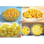 O bom gosto enlatou núcleos de milho doce na esterilização da alta temperatura da salmoura 425g