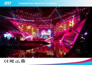 China SMD 1R1G1B Rental LED Display Screen , P4.81 Indoor Led Billboard Die Casting aluminum on sale