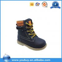 Kids Orthopedic Winter Snow Boots With Fur/China Safety Shoe Manufacturer