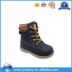 China Kids Orthopedic Winter Snow Boots With Fur/China Safety Shoe Manufacturer on sale