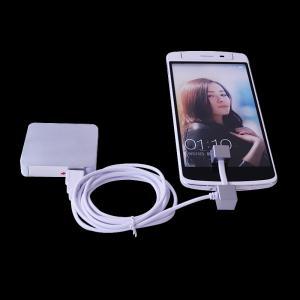 China Tenedor múltiple de alta calidad del cargador del teléfono móvil de la tableta del eje del usb del puerto de la alarma 2 de los puertos on sale