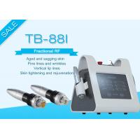 Portable Fractional RF Microneedle Machine For Wrinkle / Stretch Mark Removal