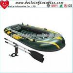 High speed PVC inflatable sailing catamaran fishing boat with CE certificate