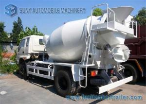 China 6 Cbm T King concrete mixer trucks 4100 MM Wheelbase Yuchai 130 Hp Engine on sale