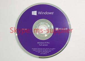 China DVD inglés del hardware USB del sistema informático del Pro Pack de Windows 10 de la versión on sale