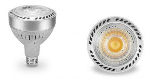 China LED PAR30 Bulb Light 32W Led Globe Light Bulbs With Cree COB With Optical Lens on sale
