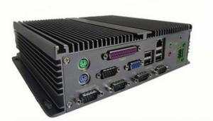 China Atom D525 fanless embedded PC 5xCOM, 2xS2, 1xVGA, 1xLPT, 6xUSB, 1xLAN, 1x Audio, 1x MIC on sale