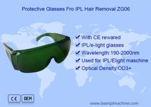 China Q Switch IPL Hair Removal OD3 Laser Hair Removal Safety Glasses on sale