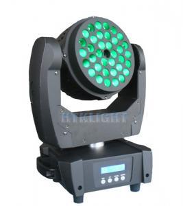 China High Performance LED Wash Moving Head Rgb Laser Stage Light Optional Beam Angle on sale