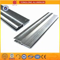 China Silver / Champagne Anodized Aluminum Extrusion Profiles For Industrial on sale