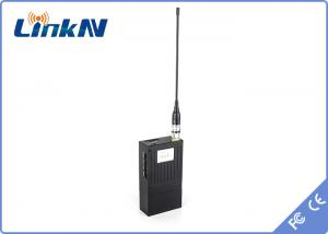 China Mini Portable Video Wireless Transmitter , Wireless Video Sender For Police Investigate on sale