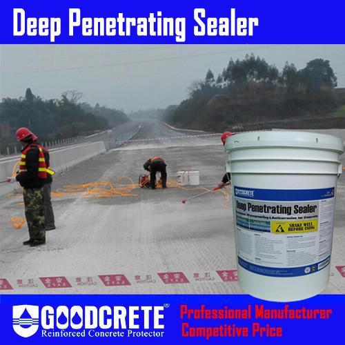 Concrete Bridge Deck Waterproofing, Deep Penetrating Sealer