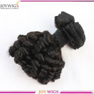 China 14 inch full length AAAAA top quality spring curly 100% brazilian virgin human hair weave on sale