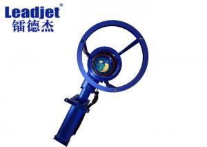 China Handheld Laser Engraving Machine , Fiber Laser Part Marking Machine CE Certified on sale