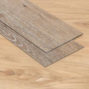 China Sturdy Luxury Vinyl Tile Flooring Low Noise Emission High Elastic Shock Resisting on sale