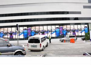 China 10 mm Pixel Pitch SMD Outdoor LED Advertising Screens Wireless Customized Size on sale
