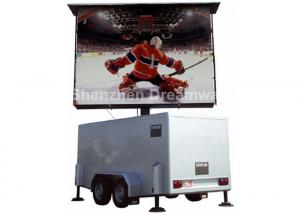 China PH10 RGB 16KW Waterproof Mobile LED Display screen 7500 nits For Vehicle / Van on sale