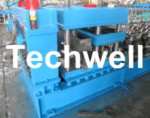 China Grain Silo Corrugated Steel Sheet Roll Forming Machine For Corrugated Wall Panels on sale