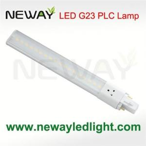 China 8Watts SMD G23 2pin Plug in Socket LED PLC Light Bulb on sale