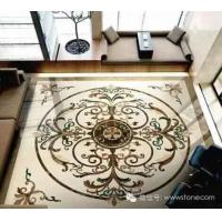 Marble Stone Polished of the Waterjet Patterns Flooring Tiles,Waterjet Tile
