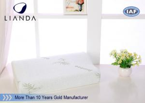 China Luxury contour bed cooling gel memory foam pillow Lightweight on sale