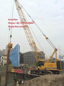 China New Condition Telescopic Boom Crane / Xcmg Crawler Crane Truck With Cummins Engine  Xct55T on sale