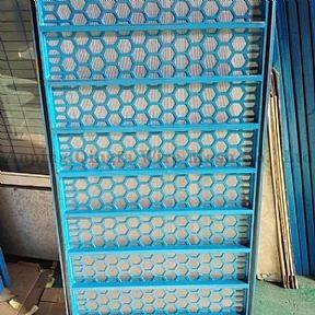 China Frame Flat Shale Shaker Screen on sale