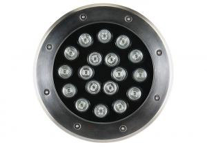 China 304 Stainless Steel Underground Led Light 18w on sale