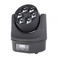 China Beam Color Wash Bee Eye LED Moving Head Light Mini Size 6 *15W RGBW Disco Party Lighting on sale