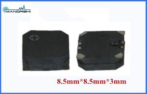 China Quadrate Warning SMD 3V Piezo Buzzer 8.5×8.5×3 MM 2670Hz Rated Frequency on sale
