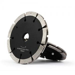 China Durable Diamond Cutting Blade Fast Speed Laser Welded Segmented Type Black Color on sale