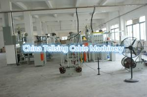 China China good quality PVC USB cable extruding machine production lines manufacturer on sale